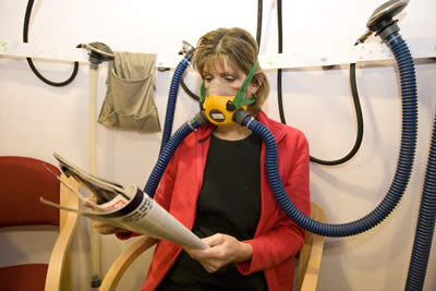 In the Oxygen Chamber