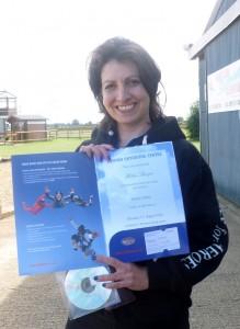 Helen's skydive